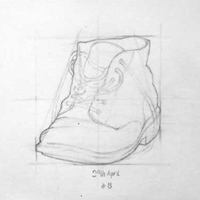 Boot drawing 3