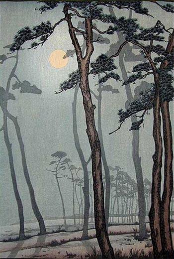 Print composition by Frank Brangwyn