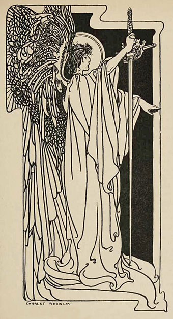 An illustration by Charles Robinson.