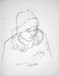 cafe sketch 27