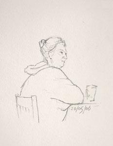 cafe sketch 73