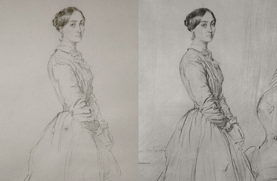 Copy of a Sargent drawing