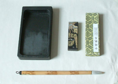 Chinese drawing materials