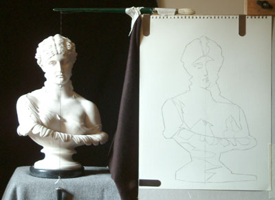 Clytie One, work in progress 5
