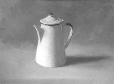 Coffee pot - tone study
