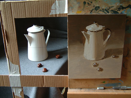 coffee pot - work in progress