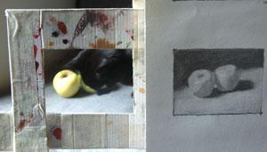 apples, work in progress 6