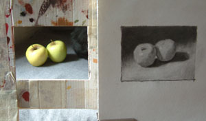 apples, work in progress 8