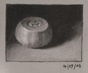 Still life drawing number twenty-four - butternut squash