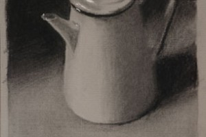 Coffee Pot Three – Still life Drawing Number Thirty-one