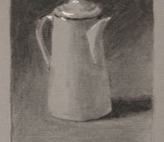 Coffee Pot Two – Still life Drawing Number Thirty