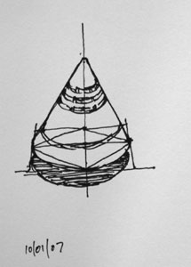 Cone - quick sketch