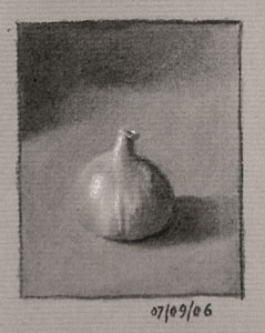 Still life drawing number nineteen - fig