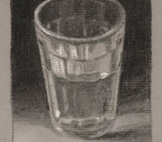 Glass of Water – Still life Drawing Number Twenty Nine