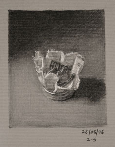 Still life drawing number Thirty-three - Violin Rosin