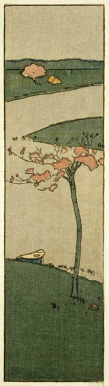 Cherry Tree by Arthur Wesley Dow