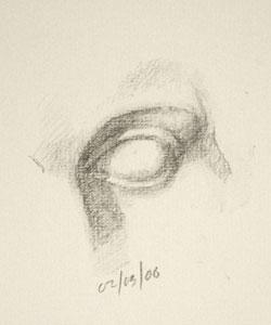 Eye drawing number Ten