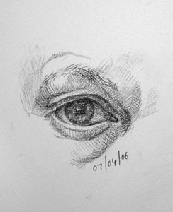 Eye drawing number Thirteen