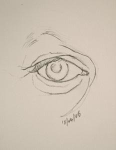 Eye drawing number fourteen