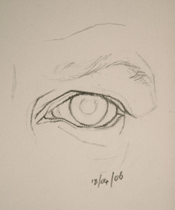 Eye drawing number fifteen