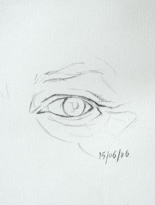Eye drawing number seventeen
