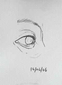Eye drawing number eighteen