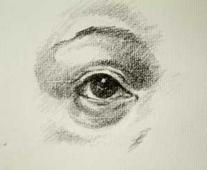 Eye drawing number three