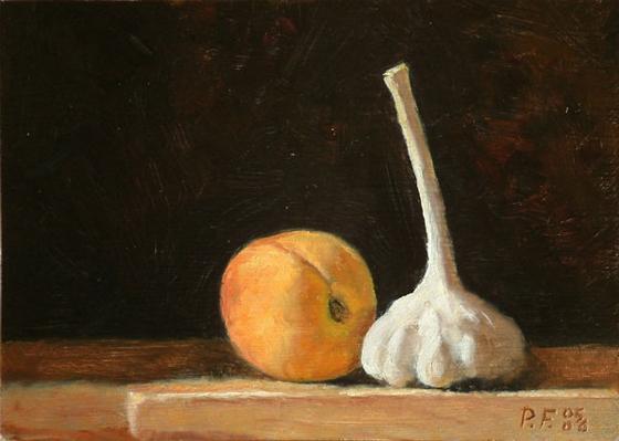 garlic-and-peach