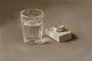 Glass and Tea Light