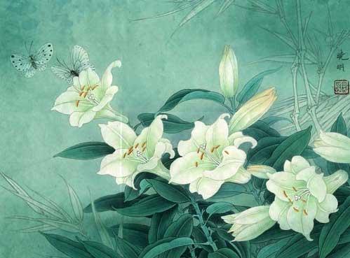 Chinese Gongbi painting