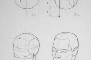 Constructing the head – Andrew Loomis