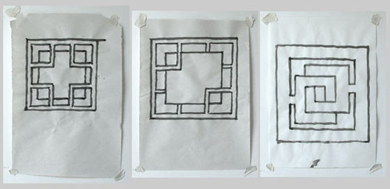 Regular divisions of a square