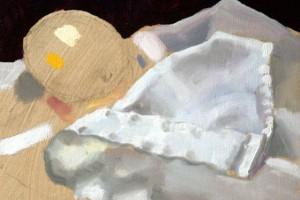 Still Life Painting of a Lemon