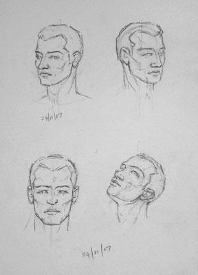 More Loomis heads
