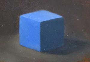 Marsha's blue cube