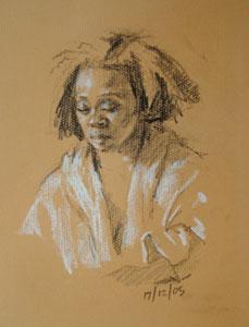 Portrait of Michelle 2