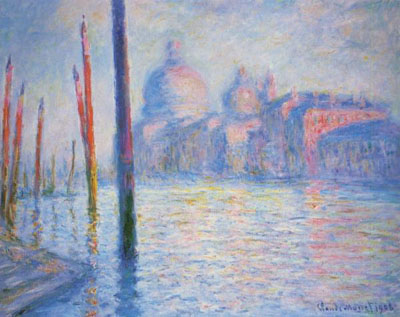 Monet: The Grand Canal, Venice