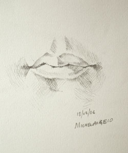 Mouth drawing number two