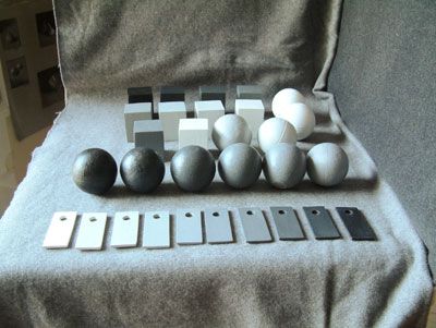 Munsell cubes and spheres