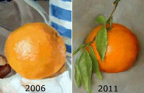 Orange and clementine