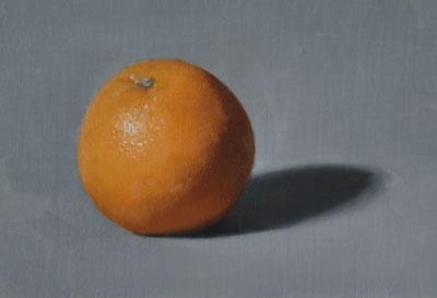 Colour accuracy study of an orange