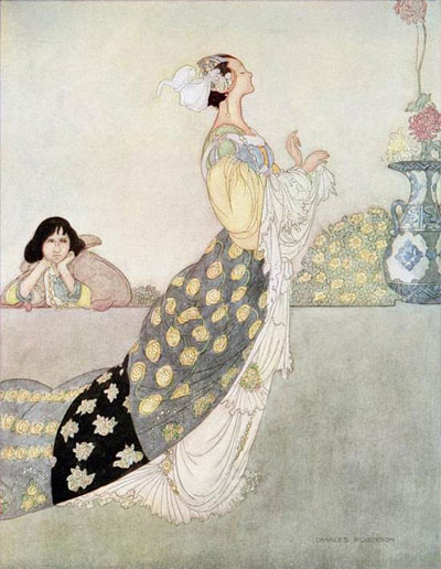 Illustration by Charles Robinson.