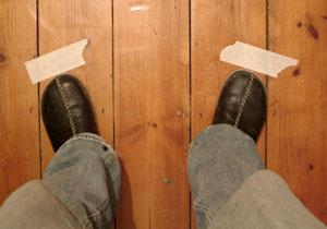 Bargue Copies - foot position