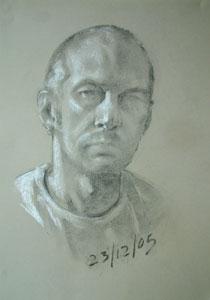 self portrait 23rd December 2005