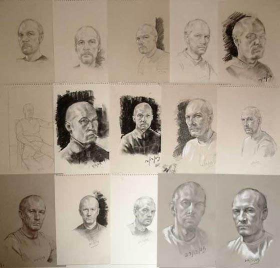 All Self Portraits