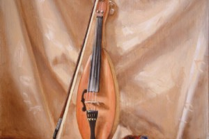 Teardrop Fiddle and Bow