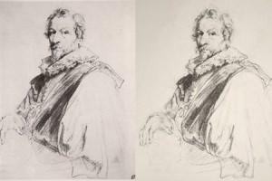 Old Master Drawing Copy – Van Dyck