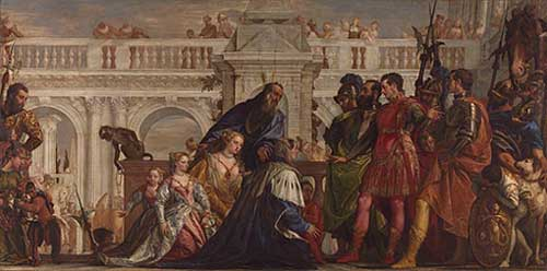 Veronese, The Family of Darius before Alexander