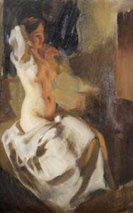 Transition in a painting by anders Zorn.