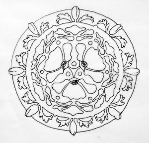poppy-mandala-traced